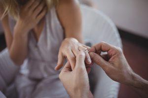 Verlobung vor der Hochzeit