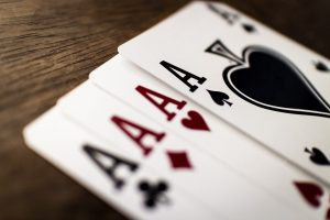 Trinkspiel Ass Spielkarte