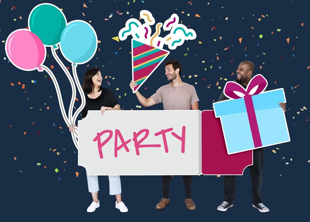 Partyplanung starten