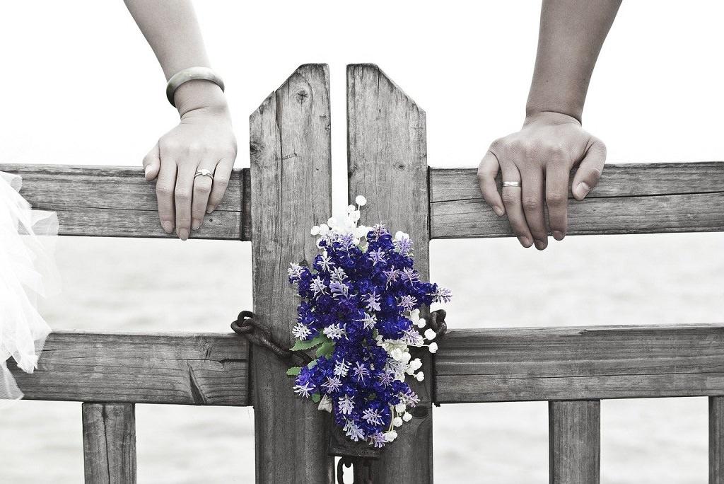 Hochzeit Trendfarbe lila