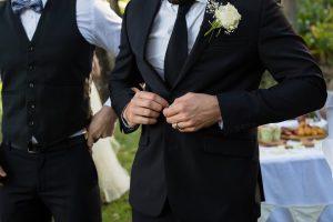 Styling Anzug Bräutigam