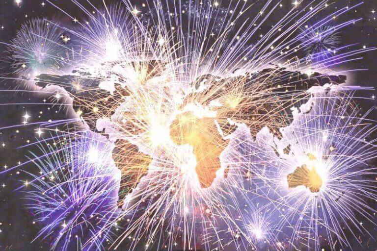 Internationale Silvesterbräuche weltweit
