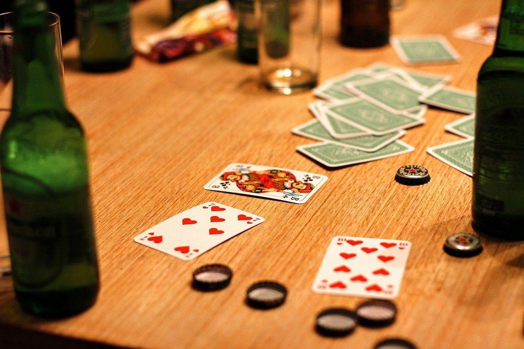Trinkspiele mit Karten