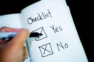 Checkliste Polterabend