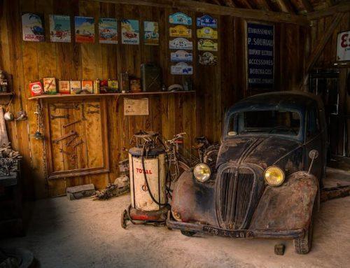 Die Garage als Party-Raum