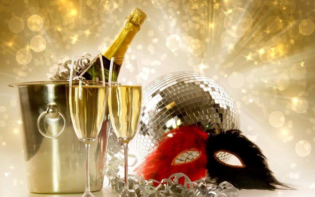 Silvester zu zweit feiern